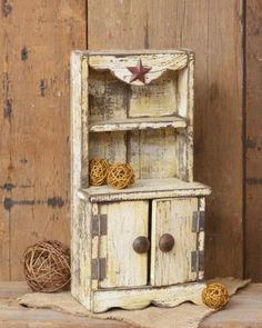 1930 S Juvenile Hoosier Cabinet Miniature Childs Kitchen