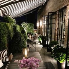 Big City Terrace Perfection!