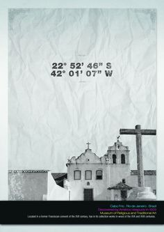 Cities by Enrico Costa, via Behance