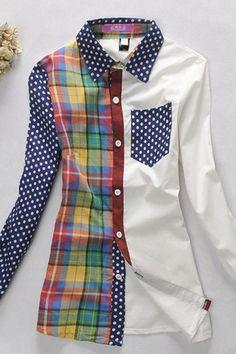 Рубашки в клетку (подборка) / Рубашки / Модный сайт о стильной переделке одежды…
