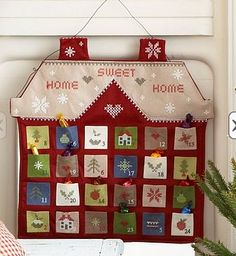 Samster Mommy: Advent Calendar Sew Along