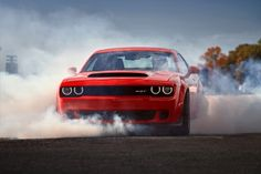 The Unholy 2018 Dodge Challenger Demon will eat all of the souls - http://www.bmwblog.com/2017/04/12/unholy-2018-dodge-challenger-demon-will-eat-souls/