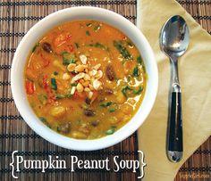 Curried Peanut Pumpkin Soup