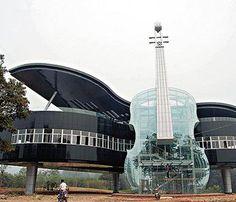Piano House, Huainan, China