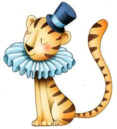 sticker decorativo infantil o tigro