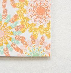 foxglove flowers card. $4.50, via Etsy.