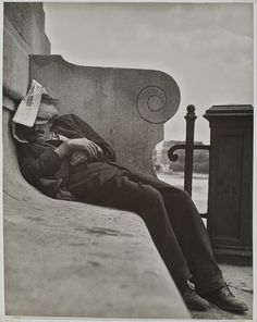Sleeping by the Seine, Paris   National Gallery of Canada