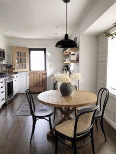 69 This Stunning All White Kitchen Renovation ~ My Dream Home Küchen Design, House Design, Design Trends, Design Ideas, Design Inspiration, Home Interior, Interior Design, Boho Living Room, Small Dining