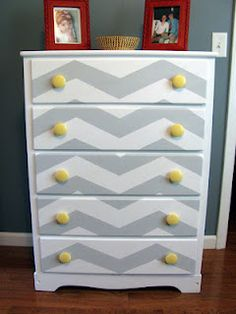 nope. my dresser make over. Stop stealing my ideas @Emily Reed