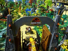 Jurassic Park in #LEGO More