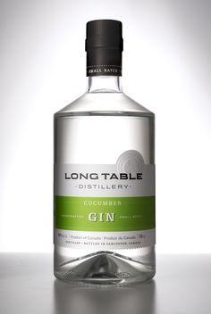 Long Table, Cucumber Gin 2015, British Columbia