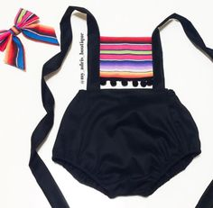 Mexican Sarape Romper by MyAdrisBoutique on Etsy