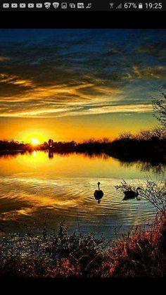 Amazing Sunsets, Amazing Nature, Beautiful World, Beautiful Images, Simply Beautiful, Beautiful Sunrise, Beautiful Morning, Belle Photo, Beautiful Landscapes