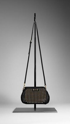 5406c4eeb211 Studded Leather Crossbody Bag
