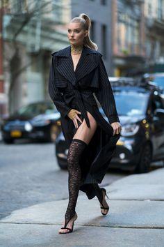 Elsa Hosk - Jacob and Co jewelry Photoshoot in NYC Estilo Fashion, Look Fashion, Trendy Fashion, Fashion Models, Ideias Fashion, Girl Fashion, Fashion Outfits, Womens Fashion, Fashion Design