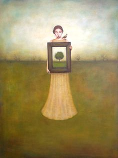 Duy Huynh -- Paintings- invitation to optimism