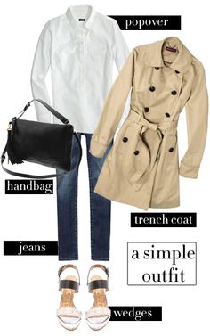 College Prep: The Perfect Spring Outfit  {Pinning for this coat!}