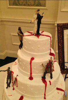 Zombie cake I love it!! Hahha