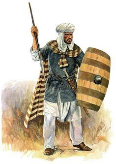 Guerrero andalusi (Andalusian guerrilla, the Spanish Reconquista