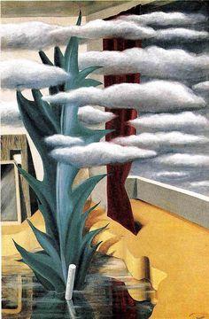 Rene Magritte(BEL)      ルネ・マグリット(白)