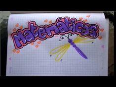 Como MARCAR tus CUADERNOS - fácil y rápido - YouTube Page Decoration, Font Styles, Letterpress, Creative Design, Hand Lettering, Online Business, Doodles, Notebook, Bullet Journal
