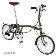 Brompton Brompton 2013 S2L Folding Bike - Raw Lacquer - £1,050.00