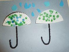 umbrella art #spring #rain