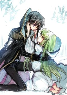 Code Geass - Lelouch and C.C.