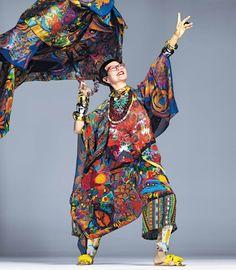 The Artist Group Jenny Kee, Pretty Dresses, Creative Design, Stylists, Kimono Top, Dress Up, Folklore, Celebrities, Artist