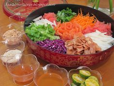 Homemade Yee Sang - Chinese New Year Salad