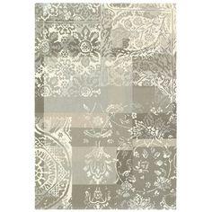 Tres grand tapis motif baroque BALANCE en Laine, par Brink and Campman, Tapis moderne