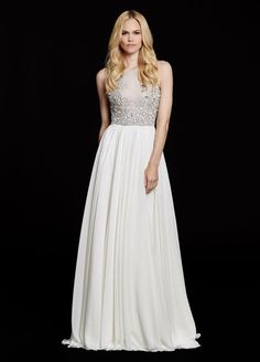 Hayley paige ellie wedding gown