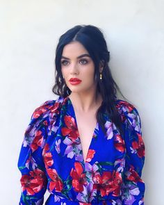Picture of Lucy Hale Girl Celebrities, Hollywood Celebrities, Hollywood Actresses, Celebs, Pretty Little Liars Aria, Lucy Hale Style, Kristin Ess, Dior, Bright Hair