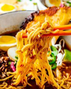 Mexican Food Recipes, New Recipes, Ethnic Recipes, Fresh Ramen Noodles, Asian Noodles, I Love Food, A Food, Beef Ramen Noodle Recipes, Hot Ramen