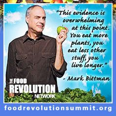 Plant based diet and life span..I was blown away by the results of a plant based diet, watch Forks over Knives!