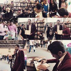 Muy contento de presentar mi primer libro en la #Filguadalajara30