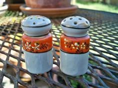 Rare Salt And Pepper Shakers | Luv2LuvAntiques - Vintage Lusterware Salt and Pepper Shakers (Powered ...