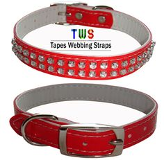Buy our all new dog collar available in red colour. Softer and smoother than before. For more details click on the below link or call us on +9833884973/9323558399  http://tapeswebbingstraps.in.cp-28.webhostbox.net/  Courtsey : Tapes Webbing straps