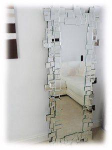 Cool jigsaw mirror!