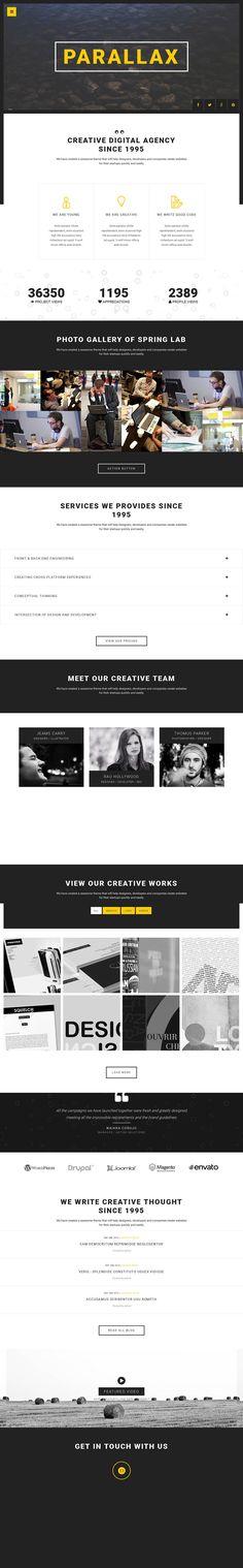 Spring - Creative Single Page #Drupal Portfolio Template http://www.themesandmods.com/premium-drupal-themes/spring/