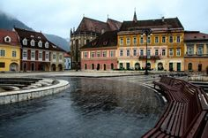 Brasov perhaps the most beautiful cit... by Cretu Stefan