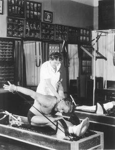 Clara and Joesph Pilates #pilates