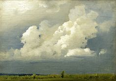 Isaac Levitan (Russia 1860-1900) Before the Thunderstorm (1890) oil on canvas Smolensk State Museum-Preserve, Russia