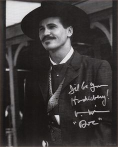 Val Kilmer as Doc Holiday in Tombstone