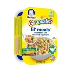 Graduates Lil Meals Pasta Stars with Chicken and Vegetables 6 Ounce  6 per case ** Visit the image link more details.