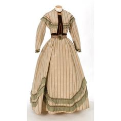 Mode 1860s ❤ liked on Polyvore featuring dresses and costume