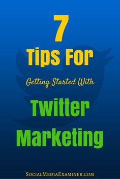 Twitter is a great platform for establishing yourself, growing an audience and making important connections. Here are 7 tips for getting the best results from Twitter.