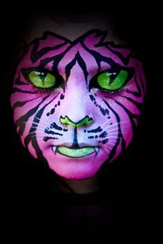 realistic cat tiger lion makeup - Google Search