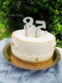 Szani Konyhája - sütni-főzni, csakis szívvel lélekkel!: Fehércsokis hála torta Cake, Desserts, Food, Tailgate Desserts, Deserts, Food Cakes, Eten, Cakes, Postres