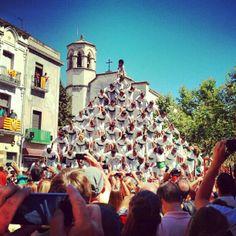 L'escala del Falcons-Plaça de la Vila en Vilafranca del Penedès, Cataluña